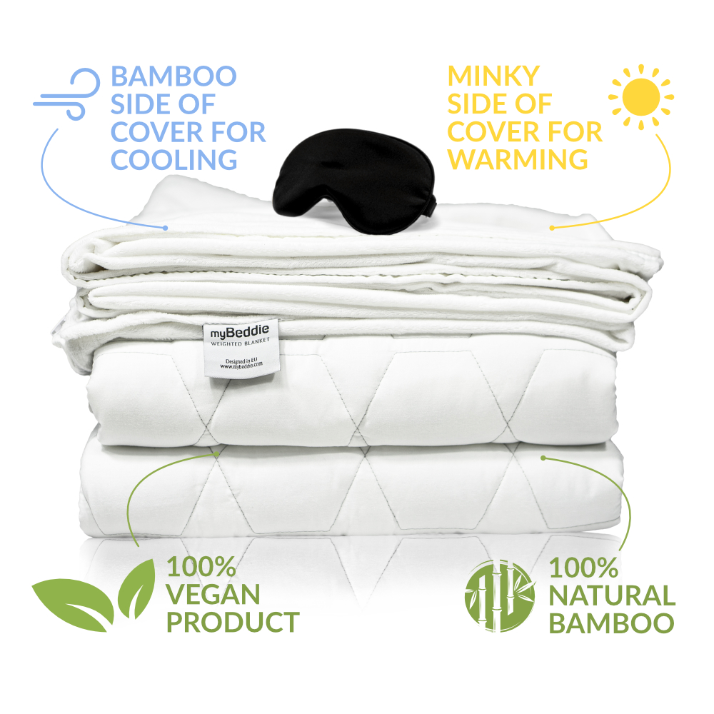 myBeddie Cooling Weighted Blanket